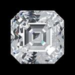 Asscher lab diamond