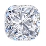 cushion lab diamond