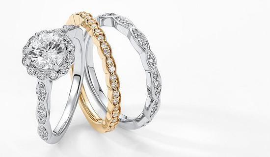 mixed metal bridal set