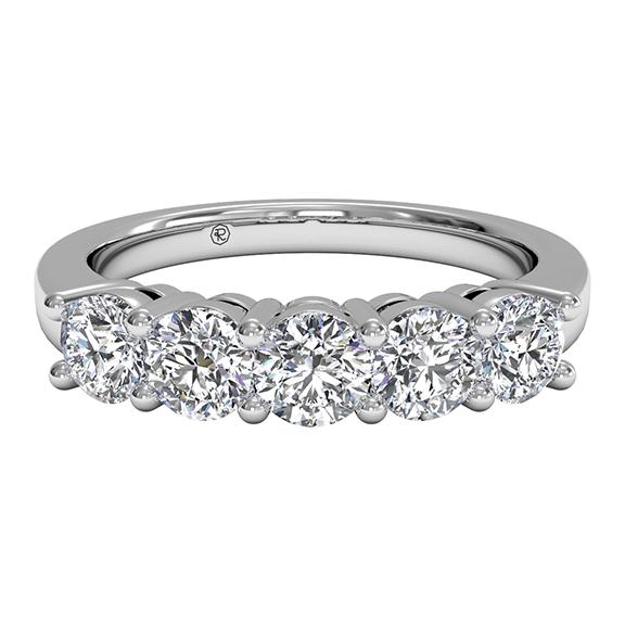 five stone wedding ring