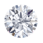 round lab diamond