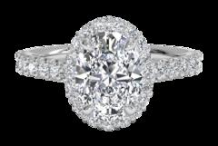 3 Carat Oval Diamond Rings